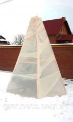 Укрытие на зиму теплолюбивых растений (Ø кроны до 1 м)