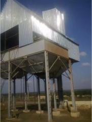 Строительство зерноочистительных комплексов...
