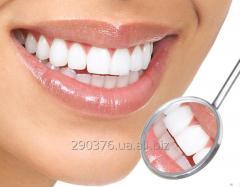 Отбеливание зубов, комплексная чистка зубов!