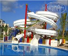 Construction of open water parks