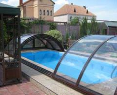 Изготовление алюминиевых накрытий для бассейнов