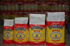 We render services of packing of flour in packages