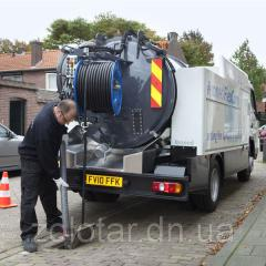 Cleaning of manufacturing and domestic waste water