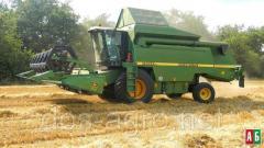 Предоставляем услуги по уборке зерновых и бобовых комбайном Джондир