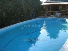 Сервисное обслуживание бассейнов в Киеве