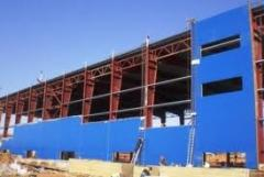 Installation Sandwich panels and professional