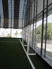 Устройство систем ограждения и освещения для спортивных объектов