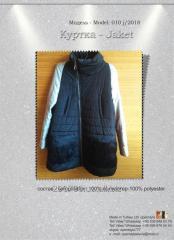 Шьем куртки. We sew jackets at factories in Ukraine.