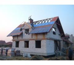 Строительство домов из профильного бруса, профильной доски, блок-хауса