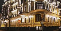 Фасадное освещение зданий