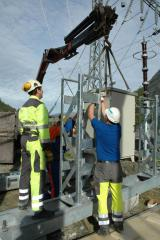 Installation of substations