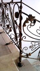 Производство кованых столбов