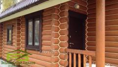 Утепление стен деревянного дома, герметизация швов сруба, заделка трещин