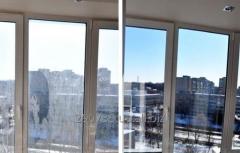 Мойка окон и витрин, промышленный альпинизм