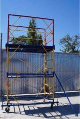 Tower - a tour, height - 6,2 m, ren