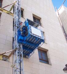 Mast Maber elevator (Italy) passenger-and-freight,