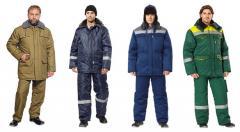 La couture des de vêtements de protection
