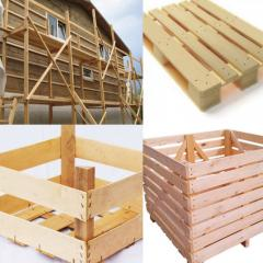 Production of a container, boxes, containers from
