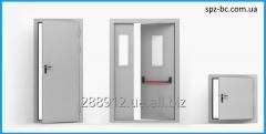 Монтаж противопожарных дверей, ворот, люков, экранов, завес (штор)