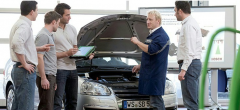 Curriculums of the personnel on automobile and