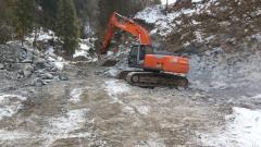 Демонтаж зданий и сооружений (HITACHI 280 молот 2,5 тонн)