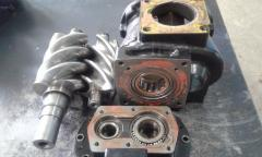 Repair of the screw B 170 ROTORCOMP block
