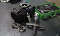 Repair of the screw EVO block of 6 Rotorcomp