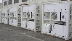 Rent of refrigerator containers. Rent of a