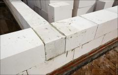 Кладка блоков (газобетонная)