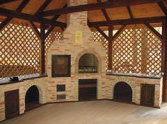 Строительство мангала кирпичного