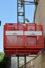 Cargo, mast Encomat 1500 elevator (Spain)
