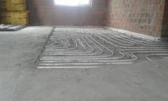 Теплый пол, радиаторы, комбинированные системы отопления
