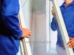 Монтаж металлопластиковых и алюминиевых окон и межкомнатных дверей