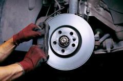 Replacing of brake pads