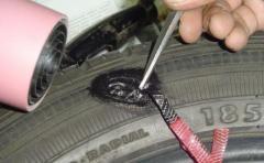 Repair of autotrunks automobile and lorries