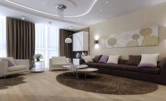 Услуги по дизайну интерьера гостиной