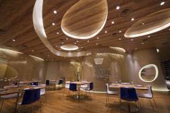 Services in interior designing of restaurants
