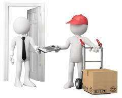 Delivery of goods for housekeeping