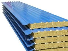 Production and assembly of sandwich panels