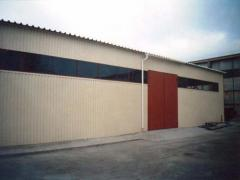 Hangars, warehouses - production and installation