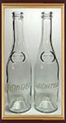 Нанесение рисунка на бутылку