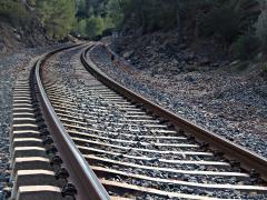 Строительство железной дороги и стрелочных переводов