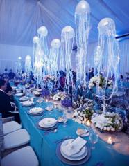 Дизайнерское оформление свадьб