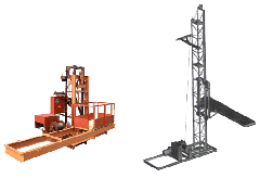 Production of mast elevators
