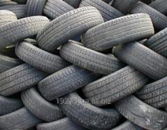 Утилизация шин легковых автомобилей