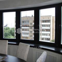 Изготовление Алюминиевых окон (Металлопластиковых)