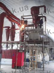 Installation and commissioning of pellet lines,