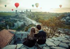 Romantic days off in Kamyanets-Podilsky
