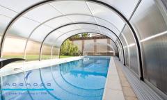 Установка павильонов для бассейнов