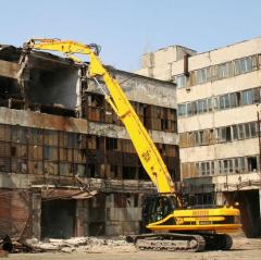Демонтаж зданий и сооружений любой сложности